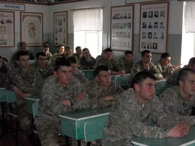 Հայկական  բանակի  21-ամյակին  նվիրված  միջոցառումներ Կոտայքի   մարզում