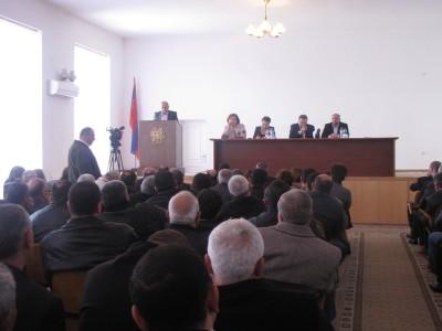 «Քաղաքատեղի  Արգիշտիխինիլի» հուշարձանի հարցը քննարկվեց Արմավիրի մարզպետարանի նիստում