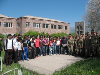 Մաքրվել ու բարեկարգվել է Կուրթան գյուղի հուշարձանների շրջակայքը