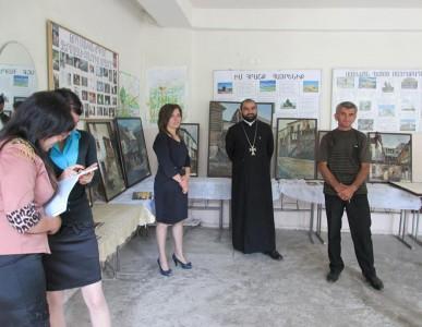 «Դիլիջանը` նկարիչների աչքերով»  շրջիկ ցուցահանդես սահմանամերձ  Չինարի  գյուղում