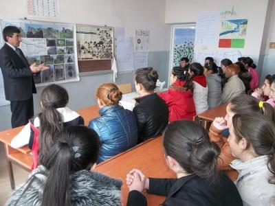 Բաց դասեր Արագածոտնի մարզում