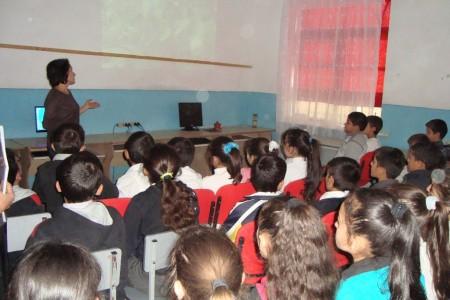 «Արփի»  բնապատմական  արգելոցի բուսական աշխարհը ներկայացվել է դպրոցականներին