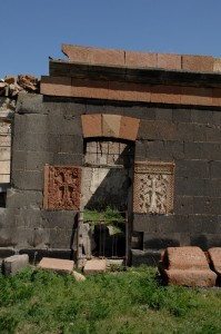Խարկով-Նորշեն  խաչքար եկեղեցու մկրտարանում (2)