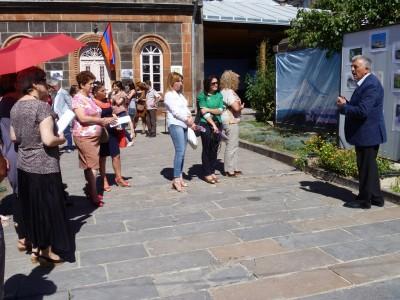 Շիրակում ցուցադրվել են Արևմտյան Հայաստանի հուշարձանների լուսանկարները