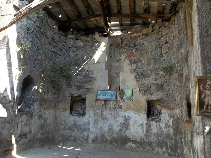 THE 14TH CENTURY CHURCH ROOF COLLAPSED IN KOTAYQ REGION
