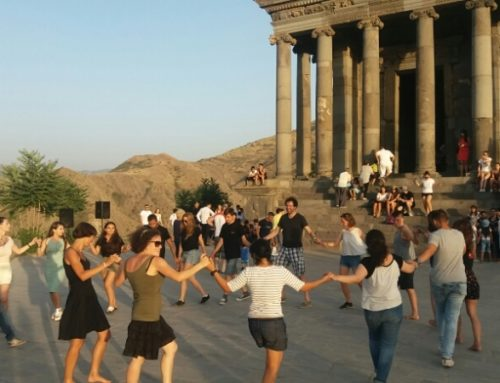 "CULTURAL EVENT WAS ORGANIZED IN ""GARNI"" ON SATURDAY AS WELL"