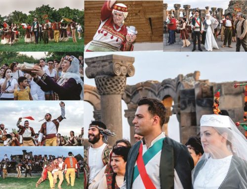 """ARMENIAN TRADITIONAL WEDDING"" PERFORMANCE-EVENT IN ""ZVARTNOC"""
