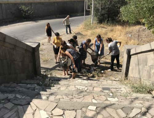 THE MONUMENT TERRITORIES IN YEREVAN HAVE BEEN CLEANED