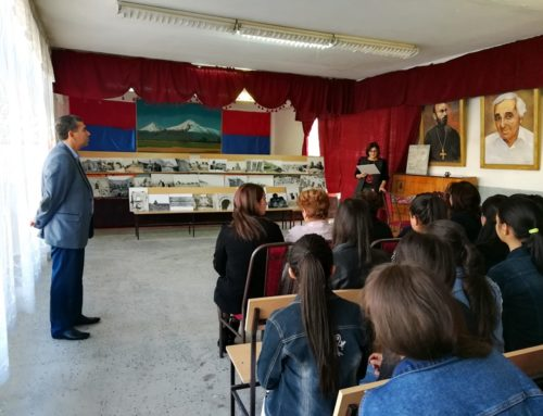 PHOTOS OF THE MONUMENTS IN WESTERN ARMENIA HAVE BEEN DEMONSTRATED