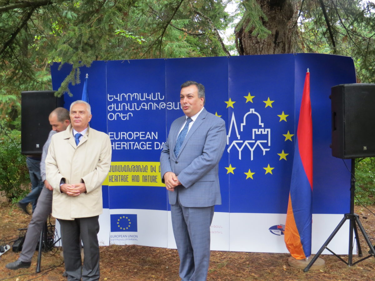 """EU WANTS TO STRENGTHEN THE CULTURAL BONDS WITH ARMENIA"". P. SVITALSKI"