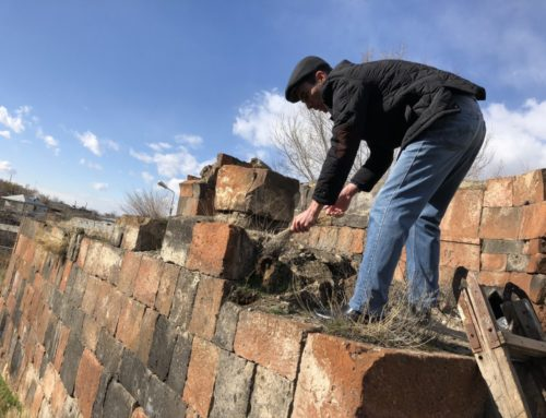 TWO MONUMENTS IN AVAN COMMUNITY HAVE BEEN CLEANED FROM VEGETATION