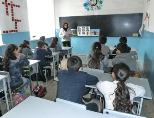PUPILS WERE INTRODUCED THE ACTIVITY OF ORBELYANS IN VAYOC DZOR