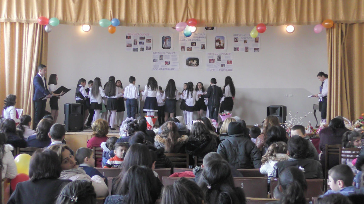 NATIONAL RITUALS IN VAYOC DZOR. EVENT IN MALISHKA'S SCHOOL