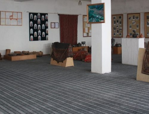 QASHATAGH'S GEOLOGICAL MUSEUM