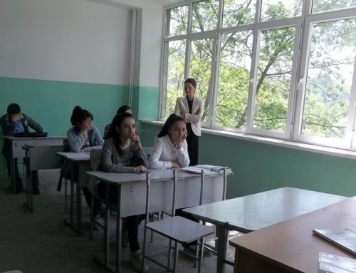 AN OPEN LESSON FOR THE PUPILS OF SYUNIQ REGION