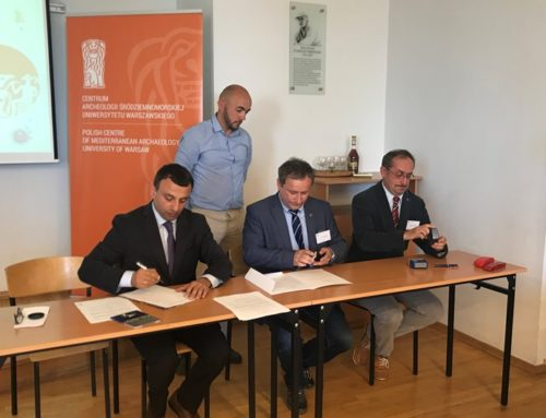 "MEMORANDUM OF COOPERATION BETWEEN ""PROTECTION SERVICE"" NCSO AND WARSAW UNIVERSITY'S INSTITUTE OF ARCHAEOLOGY"