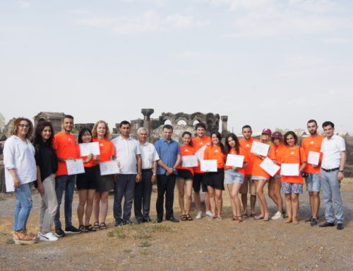 VOLUNTEERS LEAVE ARMENIA IMPRESSED WITH THE BEAUTY OF ARMENIA