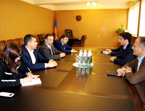THE WORKING MEETING OF NCSO'S DIRECTORATE WITH ARARAT'S GOVERNOR