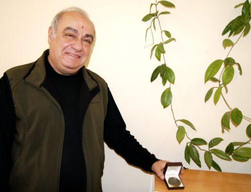 ԱՇՈՏ  ՓԻԼԻՊՈՍՅԱՆԸ  ՊԱՐԳԵՎԱՏՐՎԵԼ  Է  «ԷՐԵԲՈՒՆԻ  ԹԱՆԳԱՐԱՆ  50» ՀՈՒՇԱՄԵԴԱԼՈՎ