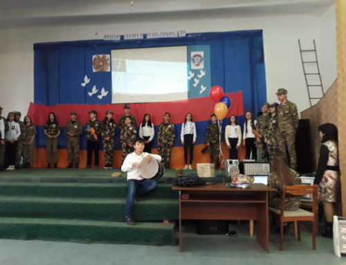 ARMENIAN ARMY DAY WAS MARKED IN VANASHEN SCHOOL