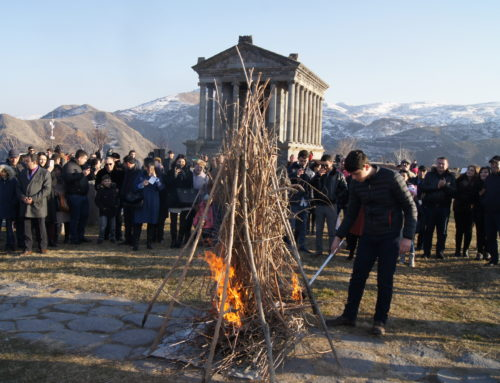 "TYARNYNDARAJ WAS CELEBRATED IN ""GARNI"""