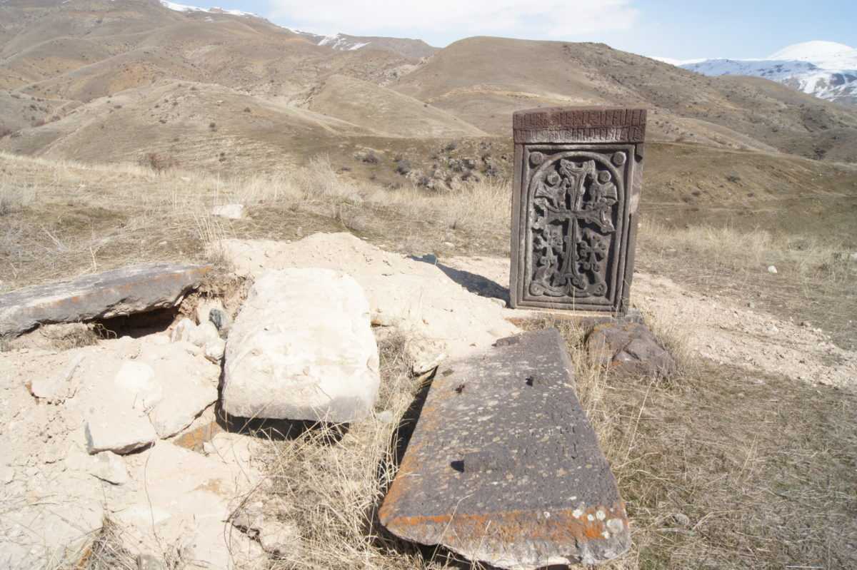 AN ATTEMPT OF TREASURE THEFT IN THE MONUMENT TERRITORY: THE MONUMENT'S EARTHEN LAYER WAS SPOILED