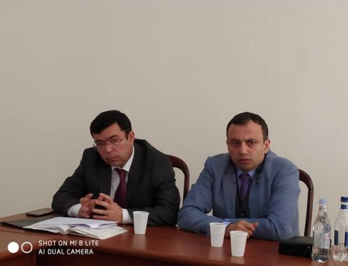 "A.TARVERDYAN: ""MONUMENT KEEPER SHOULD BE WELL AWARE OF LEGISLATION"""
