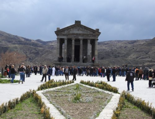 ON MARCH 21 /13:00/ RITUAL CEREMONY AND FESTIVAL WILL TAKE PLACE IN GARNI