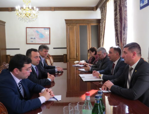 NCSO'S DIRECTORATE AND THE GOVERNOR OF GEGHARKUNIK REGION DISCUSSED QUESTIONS DIRECTED TO THE COOPERATION