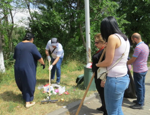 "TERRITORY OF THE ""MOTHER ARMENIA"" MONUMENT HAS BEEN CLEANED UP"