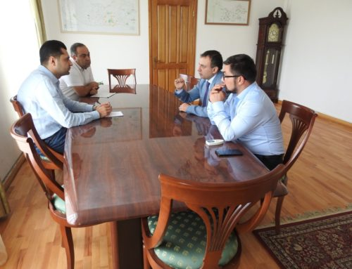 QUESTIONS RELATED TO THE PROTECTION AND PRESERVATION OF MONUMENTS WAS DISCUSSED WITH REGIONAL GOVERNORS OF ARMAVIR AND KOTAYK