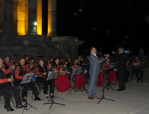 "NOTIFICATION JUBILEE CONCERT AT ""GARNI"""