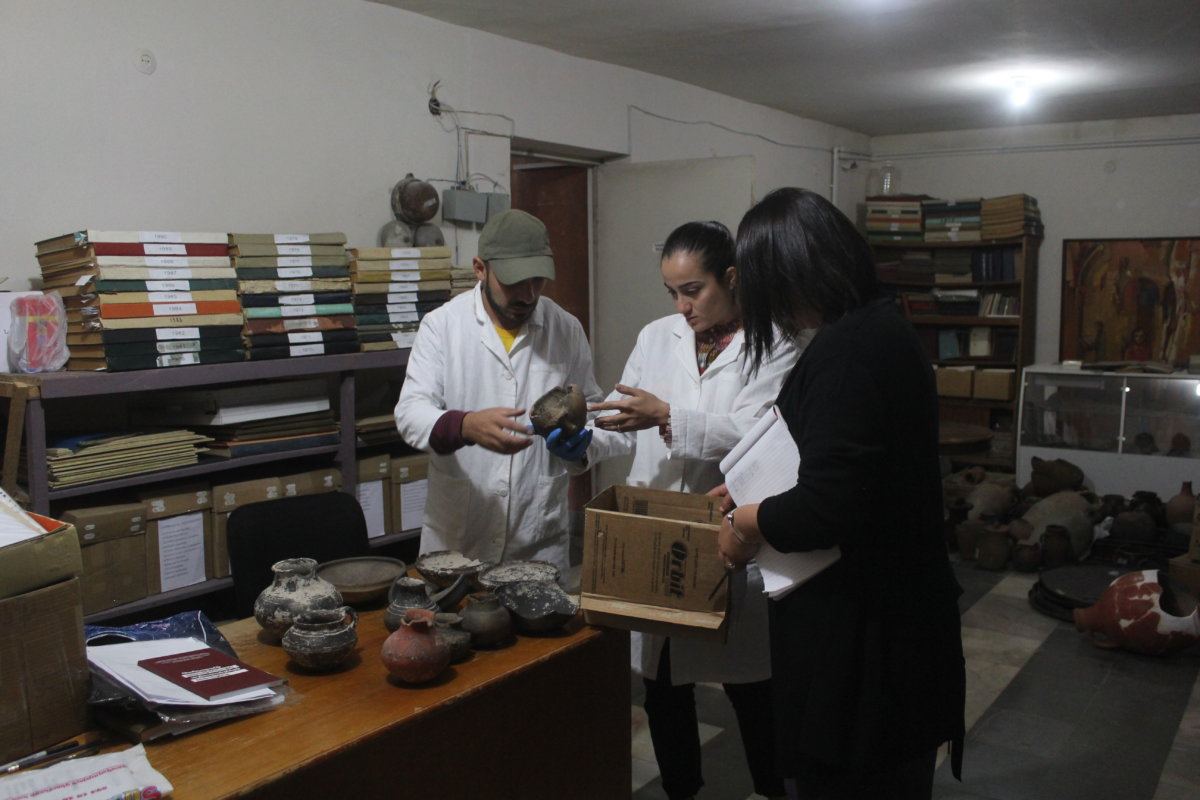 SNCO STAFF WILL STRENGTHEN AND RESTORE ARCHEOLOGICAL OBJECTS OF MUSEUMS LOCATED IN REGIONS