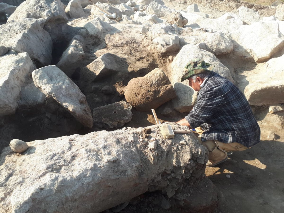 SCIENTISTS DISCOVERED FRAGMENTS OF PHALLUS AND FEMALE STATUE IN METSAMOR