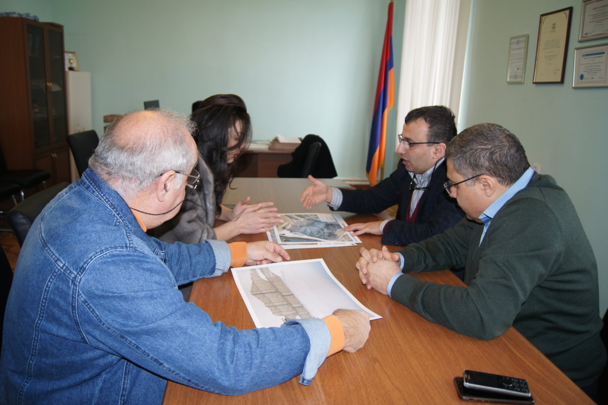 "SNCO DIRECTOR ARA TARVERDYAN HOSTED ""BNORRAN"" NGO BOARD MEMBERS"